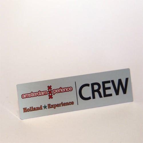 aluminium badges custom made