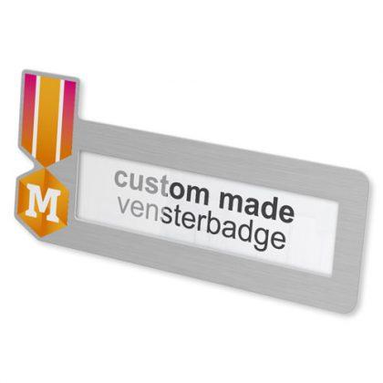 label badge in gewenste vorm