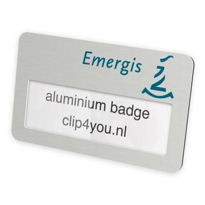 aluminium badges