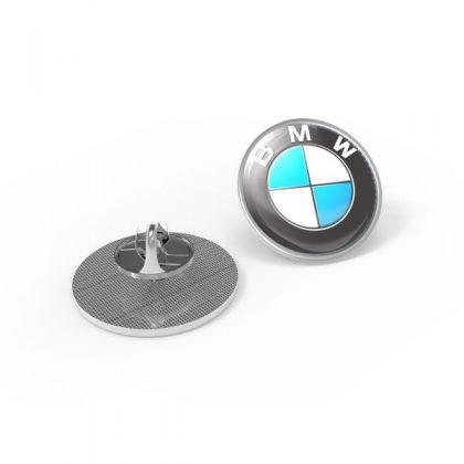 revers pin met clutch bevestiging - rond