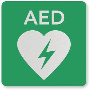 pictogrambord AED