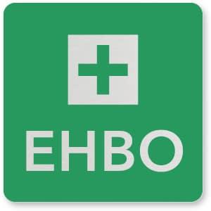 waarschuwingsbordje EHBO