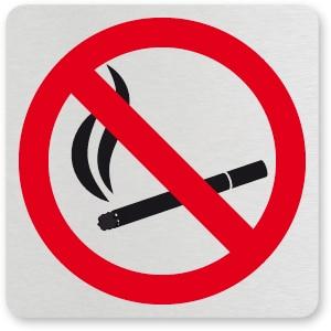 waarschuwingsbordje VERBODEN TE ROKEN