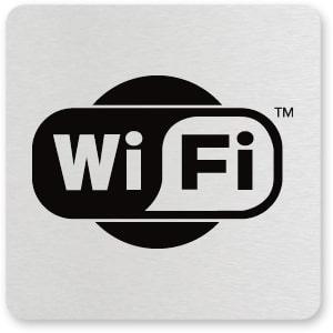 waarschuwingsbordje WIFI