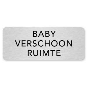 deurbordje baby verschoon ruimte