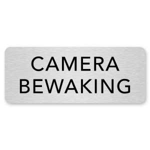 deurbordje camera bewaking