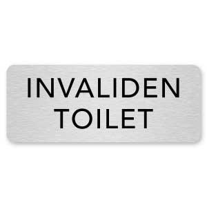 deurbordje invaliden toilet