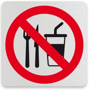verboden te eten/drinken